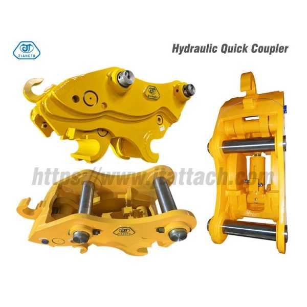 hydraulic quick hitch for excavator-5
