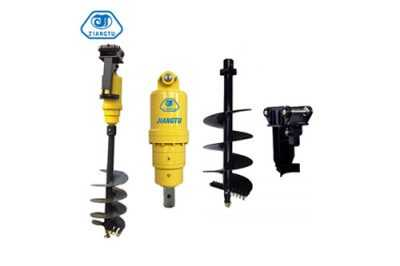 High quality Excavator Auger, hydraulic auger for excavators for sale