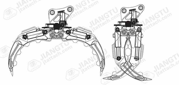 5-FingerS-Heavy-Duty-Rock-Grab-CAD-drawing