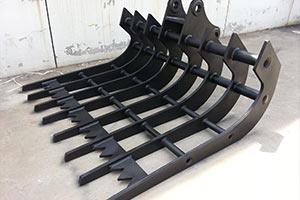 Best-excavator-stick-rake-JIANGTU-excavator-attachments