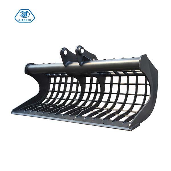 Best-excavator-stick-rake-for-sale-JIANGTU-excavator-rake-attachment