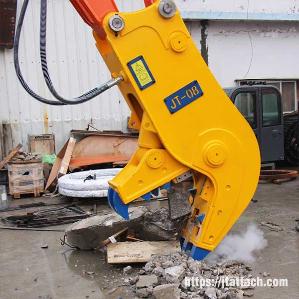 Best-hydraulic-concrete-pulverizer-for-sale-JIANGTU-demolition-attachments
