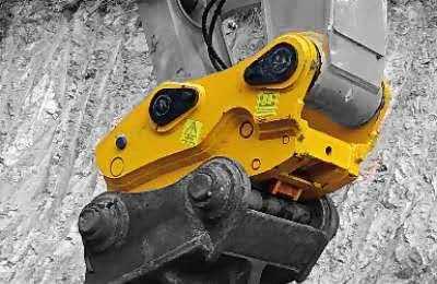 Double Locking excavator bucket quick coupler