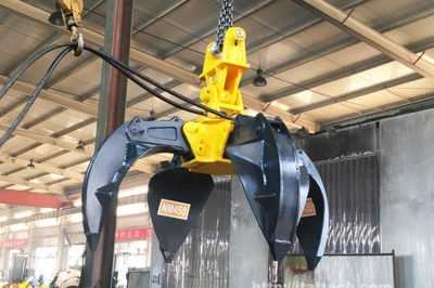 Everthing you want to know about Scrap Grab Orange Peel Grapples