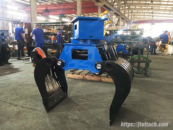 best-demolition-grapple-excavator-for-saleJIANGTU-demolition-grapple-attachment