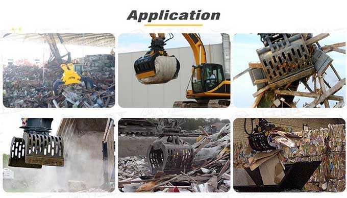 demolition-grapples-application-JIANGTU-concrete-demolition-excavator-attachments