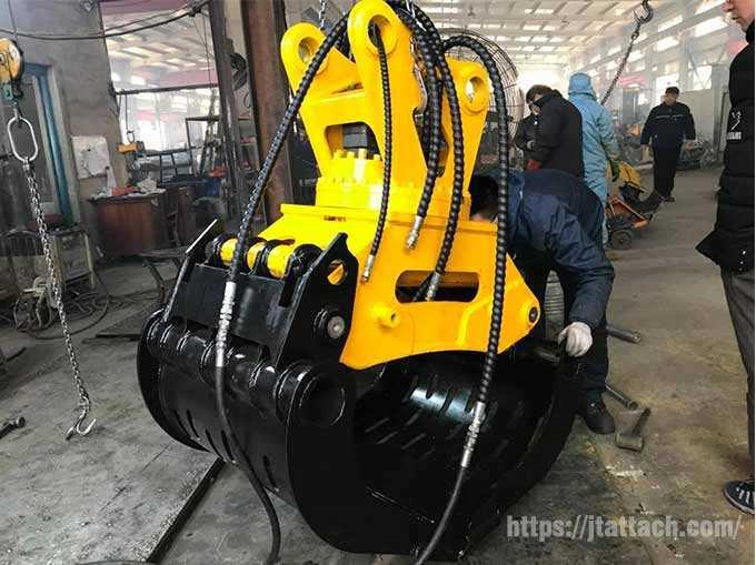 demolition-grapple-manufacturer-JIANGTU-excavator-backhoe-grapple-attachments