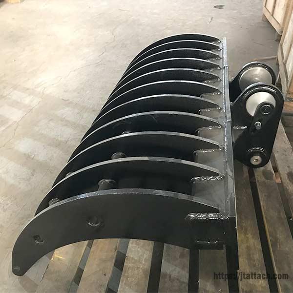 excavator-brush-rake-JIANGTU-rake-attachment-for-excavator