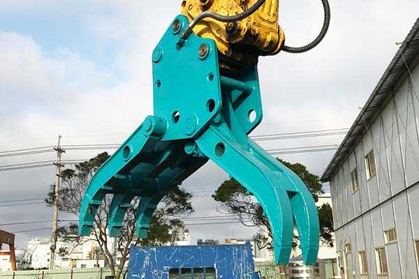 excavator-hydraulic-grapple-application