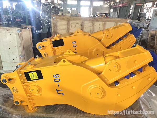 excavator-pulverizer-attachment-for-sale-JIANGTU-excavator-crusher-attachment