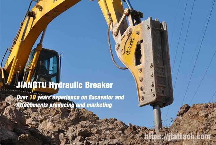 hydraulic rock hammer breaker for excavator backhoe mini excavator