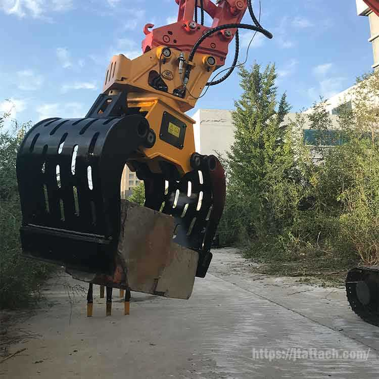 excavator-with-demolition-grapples-Sorting-Grabs-Selector-Grapples