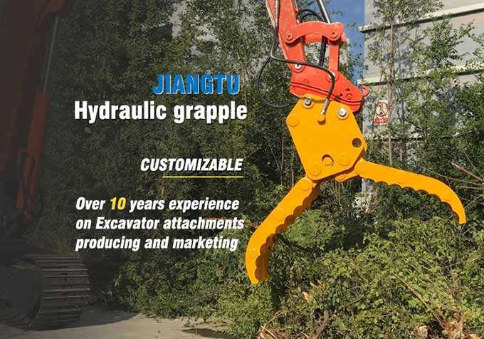 hydraulic-grapple-Product-Description