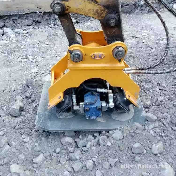 hydraulic-plate-compactor-building floors