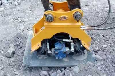 hydraulic-plate-compactor-excavator