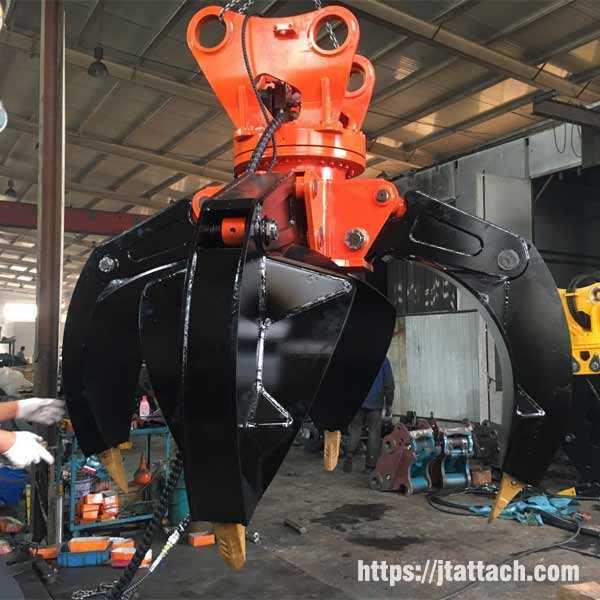 rotating-orange-peel-grab-scrap-grapple-excavator-from-China