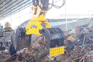 Rotating Demolition and Sorting Grapples for sale