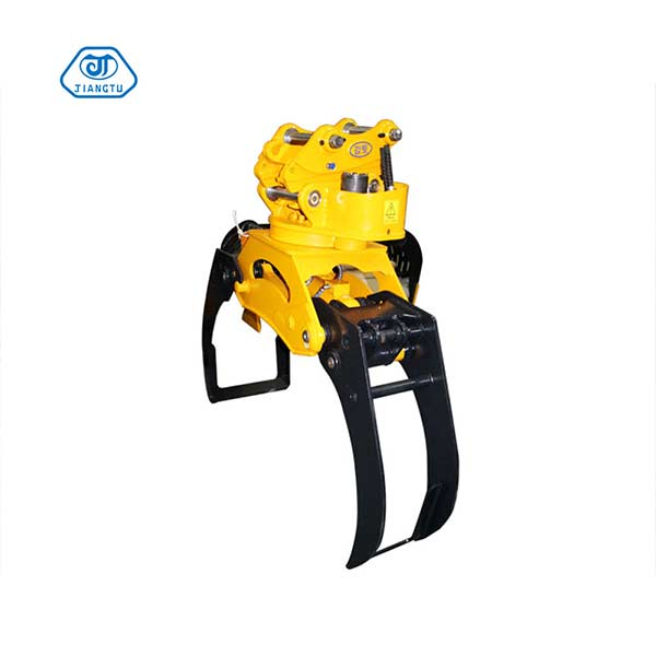hydraulic-excavator-wood-grapple-for-sale