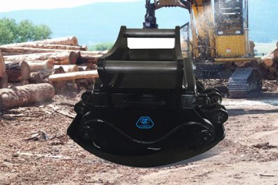 rotating timber grab excavator timber grappling machine|JIANGTU Attachments