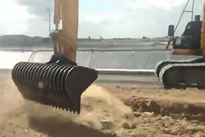 excavator-root-rake-design-JIANGTU-excavator-rake-bucket