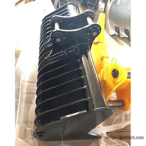 excavator-root-rake-for-sale-JIANGTU-excavator-land-rake-bucket-package