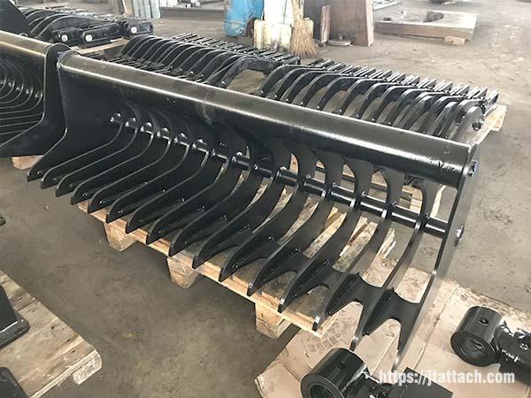 mini-excavator-rake-bucket-JIANGTU-rake-bucket-for-mini-excavator