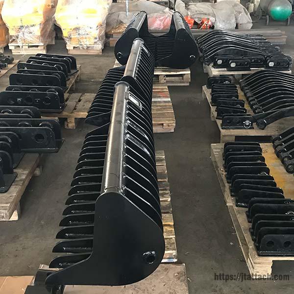mini-excavator-rake-for-sale-JIANGTU-rockland-excavator-rake