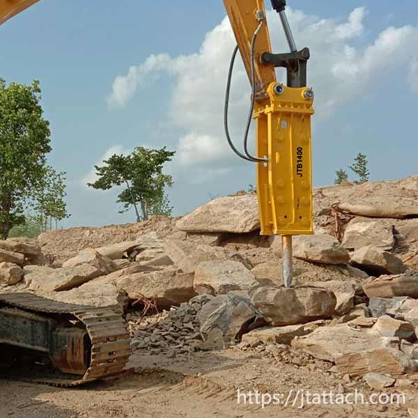 high-quality-furukawa-series-hydraulic-rock-breaker-application-Jiangtu-excavator-attachment