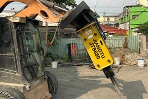 Best hydraulic breakers hammers for skid steer loader-JIANGTU-hydraulic-breaker-attachment