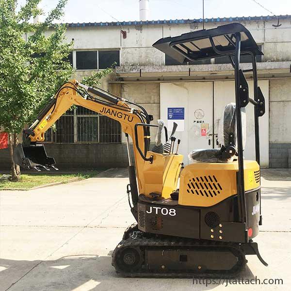 0.8ton-mall-excavator-JT08C-chinese-mini-excavator-for-sale