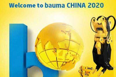 Meet you on the 2020 Shanghai China Bauma Exhibition