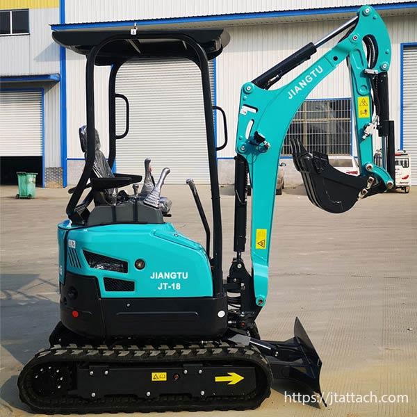 Best-mini-digger-hydraulic-excavator(JT18)for-sale-JIANGTU-micro-excavator