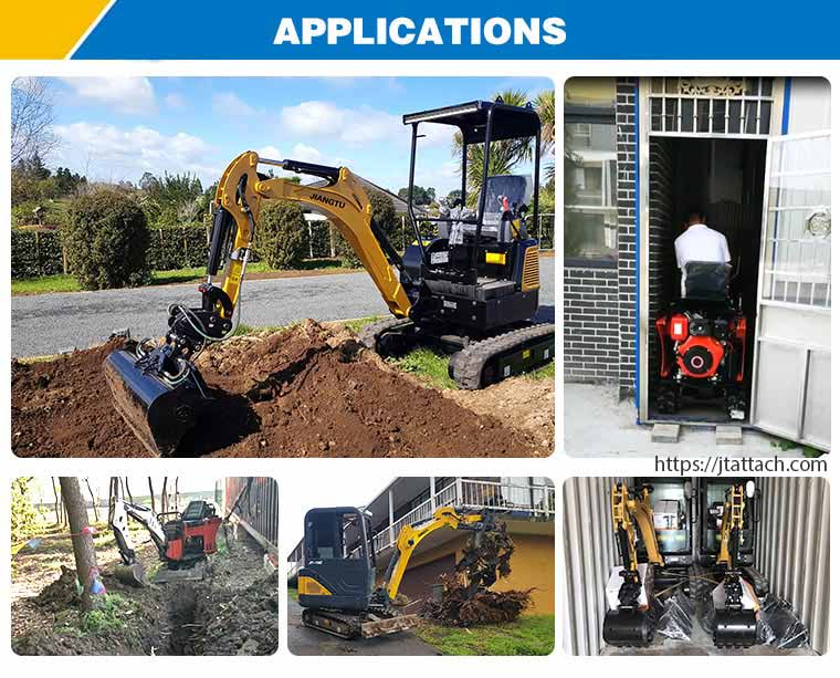 Digging-footingsfoundations-with-mini-digger-JIANGTU-mini-excavators