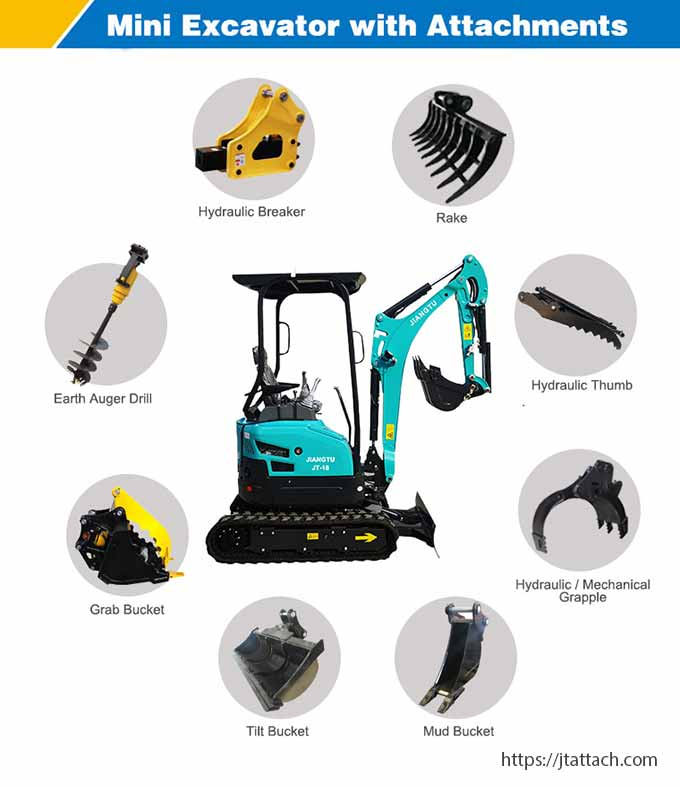 Home-mini-digger-with-attachments-for-sale-JIANGTU-JT18-mini-excavator