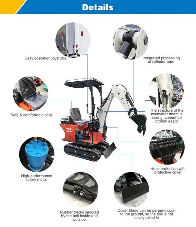 details-of-JIANGTU-micro-excavators-JIANGTU-JT08-Mini-excavator
