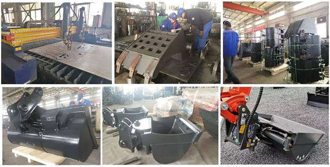 Production-process-hydraulic-excavator-rock-buckets-from-China-excavator-rock-bucket-manufacturers