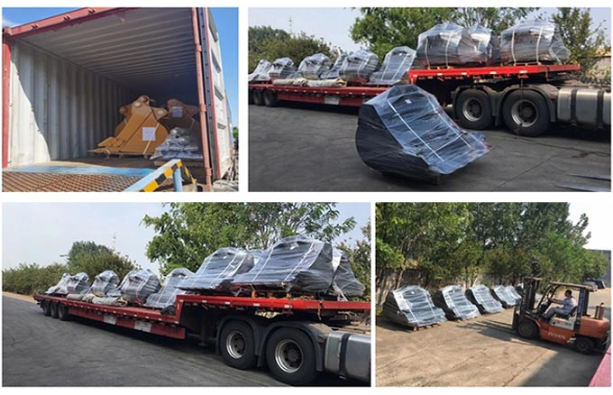 Shipment-of- JIANGTU-excavator-rock-bucket