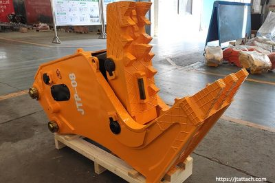 JIANGTU hydraulic concrete pulverizer for excavator/backhoe for sale from China
