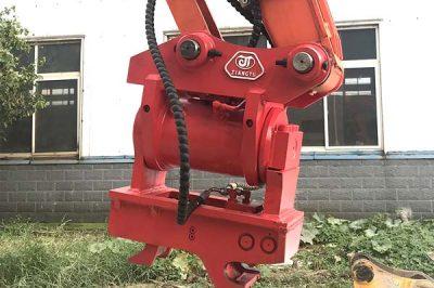 JIANGTU Announces 180 Degree Hydraulic Tilt Rotator Quick Hitch Coupler for Excavator