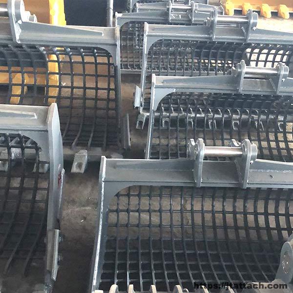 Customized-skeleton-bucket-excavator-1-30T-For-Sort-Out-Rock-Debris-OEM-Accepted