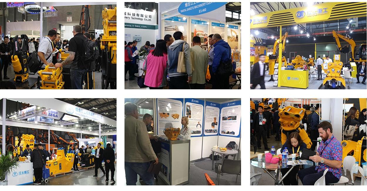 Our-Exhibition-JIANGTU-excavator-attachments