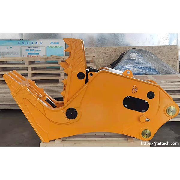 high-quality-Hydraulic-concrete-pulverizer-for-excavator-for-sale-JIANGTU-Pulverizer-Attachment
